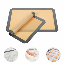 Silicone Baking Mat - Professional Grade Non Stick Silicon Liner for Bake Pans & Rolling