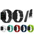 Nuevo reemplazo pulsera pulsera de silicona correa de reloj band para garmin vivoactive acetato deportivo reloj correas de reloj correa de reloj