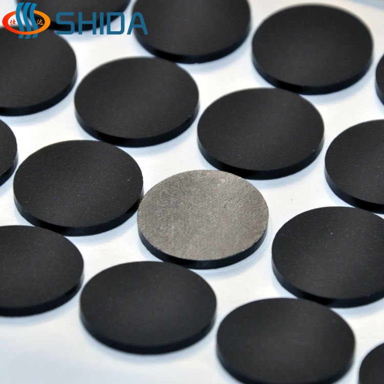 180 Pcs 20 2mm Self Adhesive Black Anti Slip Flat Bumper