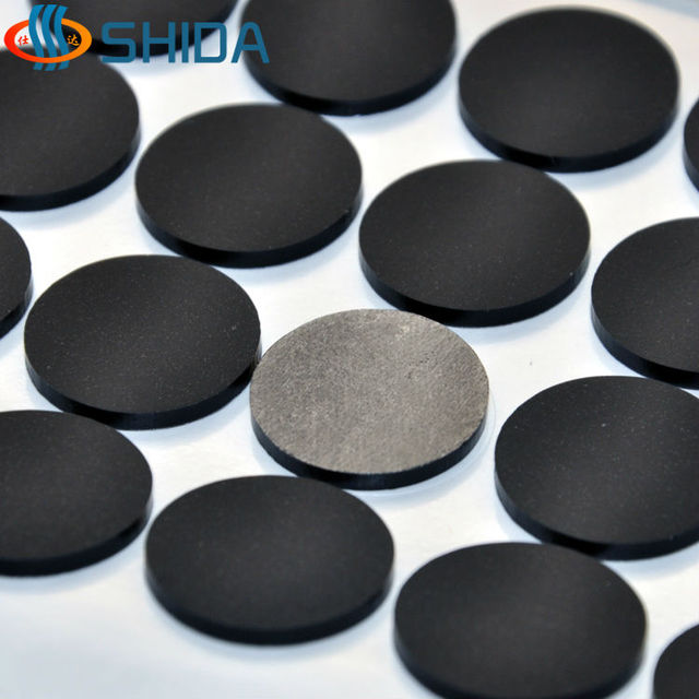 180 Pcs 20 2mm Self Adhesive Black Anti Slip Flat Per Pads Silicone Rubber Feet