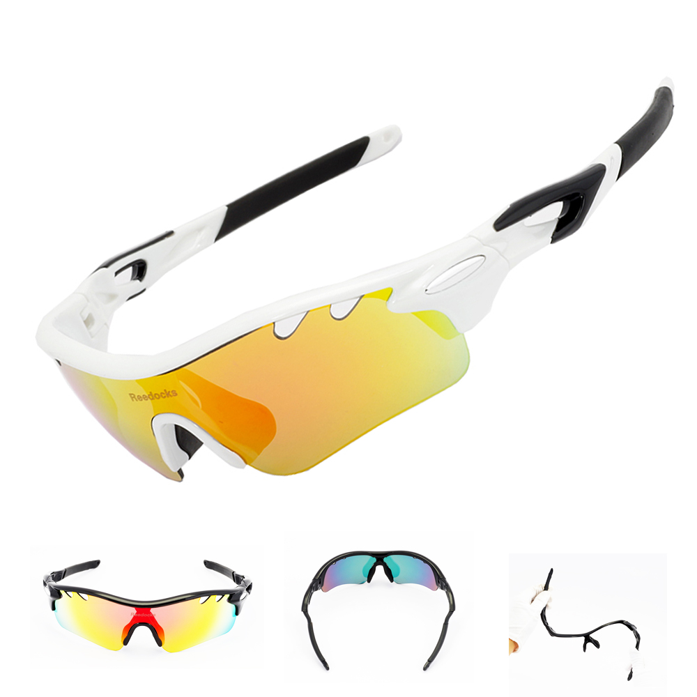 NEW With 5 Lens Men Women Polarized Cycling Sun Glasses Outdoor Sports Bicycle Bike Sunglasses TR90 Goggles UV400 Eyewear