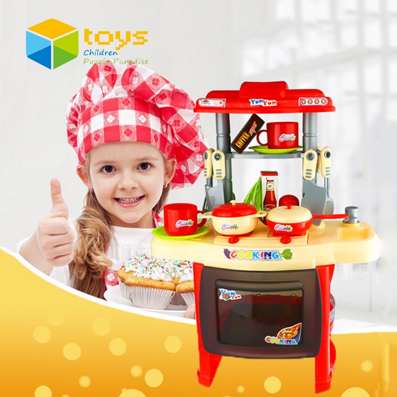 Buy simulation kid 39 s kitchen toys for for Girls kids kitchen