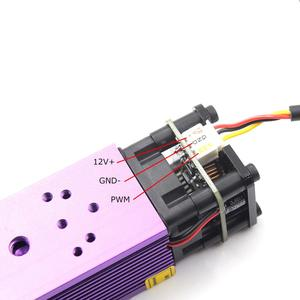 Image 4 - oxlasers NEW 450nm 2.5W 3.5W Blue Laser Head 4W 5W Focusable Laser Module for DIY Laser Engraver with PWM