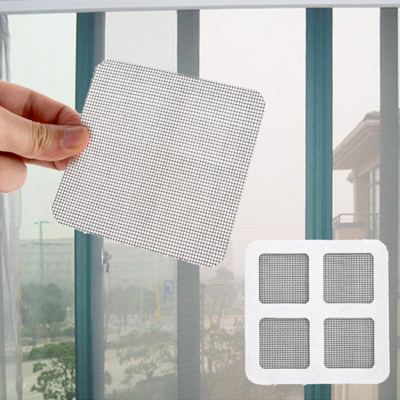 Practical Home Office Window Mosquito Screen Netting Patch Repairing Broken Holes Window Door Anti-mosquito Mesh 10*10cm & Online Get Cheap Door Patch -Aliexpress.com | Alibaba Group Pezcame.Com