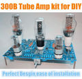 (Hot sale high-quality)6SN7-300B single-ended tube amp amplifier DIY Kit large PCB suite HIFI design(100% brand new)