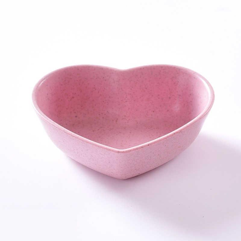 Креативная тарелка для соуса Пшеничная солома блюдо для фруктов стеклянная кружка детская чашка для еды столовая посуда