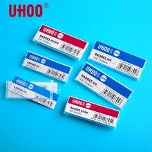 24 pcs   Pack UHOO 6693 96 สี่เหลี่ยมผืนผ้า Pin Badge ป้ายแม่เหล็ก ID ผู้ถือบัตรทำงานชื่อแผ่นสำหรับ bank, โรงแรม, โรงเรียน, ทำงาน