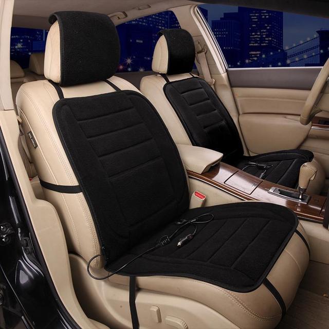 Car Seat Cover Heating Winter Plush Warm For Honda Pilot Spirior Stream Urv Ur V