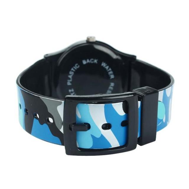 2018 High Quality Children Relogio Masculino Fashion Camouflage Watch Quartz Wrist watches For Girls Boy Gifts for Children Saat