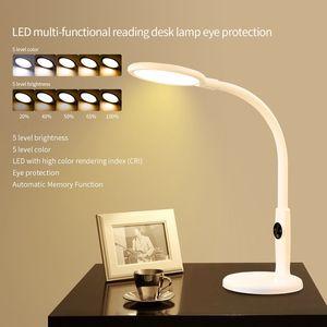 Image 2 - โคมไฟตั้งโต๊ะแบบยืดหยุ่นTouchตารางโคมไฟสำหรับห้องนั่งเล่นสก์ท็อปพับได้Dimmable EyeการศึกษาโคมไฟLed Light