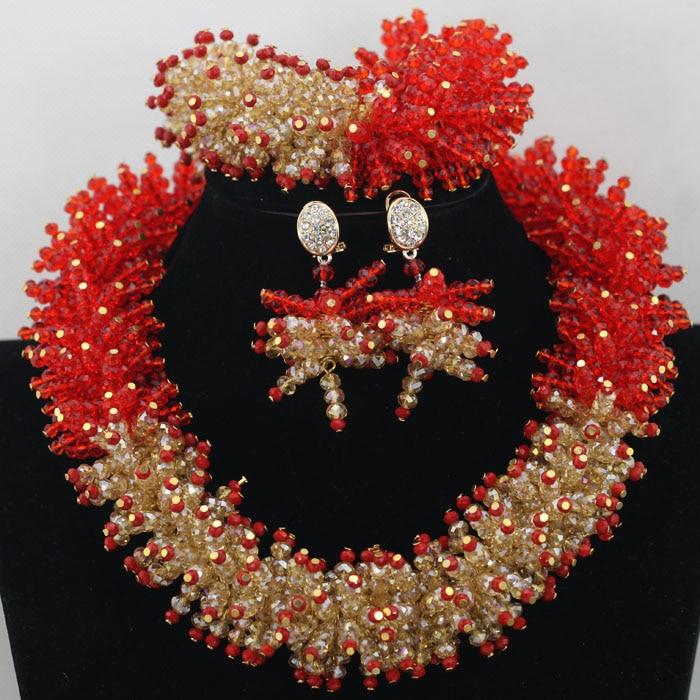 Latest Elegant Hedgehog Style Nigeria Wedding Jewelry Sets ...