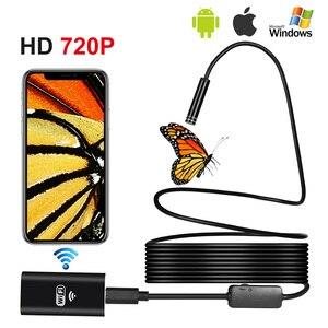 Image 2 - 1 10M Wifi Endoscope HD 720P 1.3MP 8mm Wifi Endoscope Iphone Android 720P Camera Endoscopic Android iOS Boroscope Camera