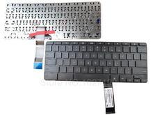 Новый Ноутбук Клавиатура США Для HP Pavilion Chromebook 11 G3 ЧЕРНЫЙ Замена Ноутбук/Ноутбук клавиатура