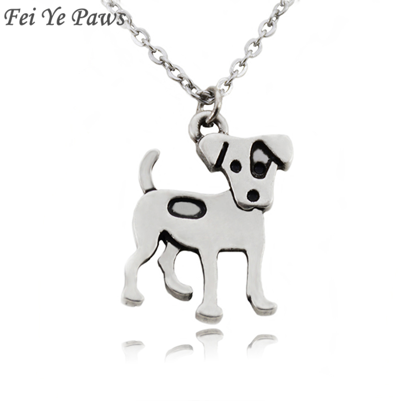 10 x Tibetan Silver Jack Russel Terrier Dog Pet Charms Pendants