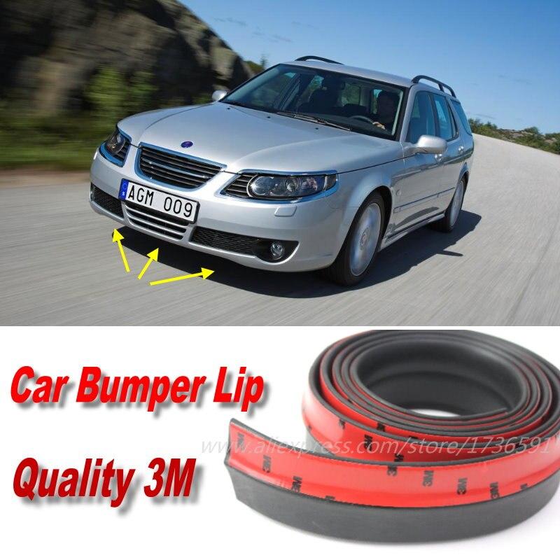 Car Bumper Lips For Saab 9 5 95 3 93 MG GT MG3 MG5 MG6 MG7 SW TF Front Lip Deflector Skirt Body Kit Strip