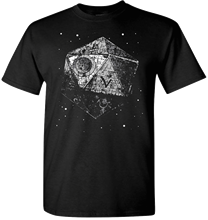 Dungeons and Dragons T Shirt Rare Black Metal Game Death Star Starwars Top Quality T-Shirts Men O Neck Top Tee Plus Size(China)