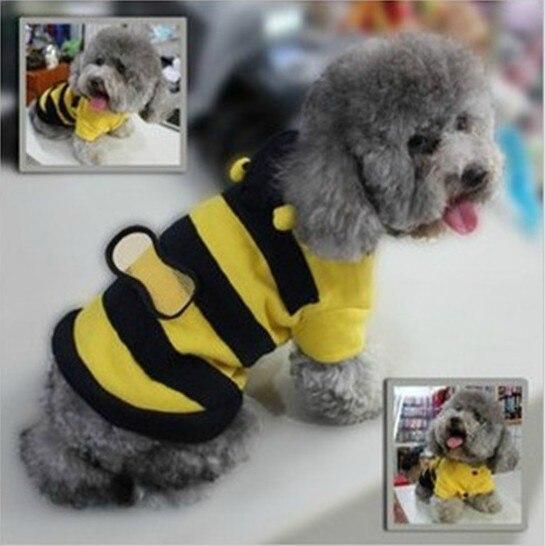 Bumble bee Dog cat cute fleece Halloween Costume lovely