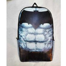 Comics Anime Batman Backpack Large Capacity Leather School Bags Cartoon Animation Hero Bat-men Men Travel Bag mochila escolar