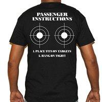 LEQEMAO Funny O Neck T Shirt Biker Life Usa Men S Place Tits Here Passenger Instructions
