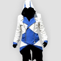 AC Conner Kenway Coat Jacket Anime Cosplay Costume Overcoat 11 Color XS 5XL Size Choice
