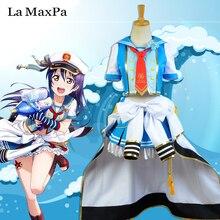 La MaxPa lovelive amor vivo marina armada Despertar Umi Sonoda cosplay anime Japonés traje de marinero niñas mujeres anime Idolatrado