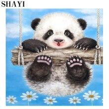 Panda Diy 5D Diamonds Painting Animals Diamond Embroidery Cross Stitch And Furniture Decoration Gift