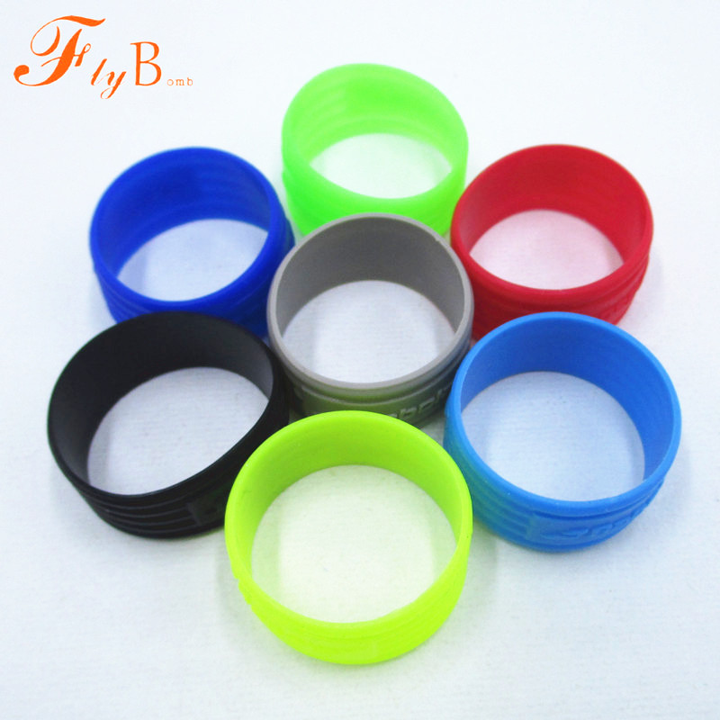 <font><b>Tennis</b></font> Racket Handle's Silicone Ring tenis Racquet Overgrip Use Wrap Various Colors L354