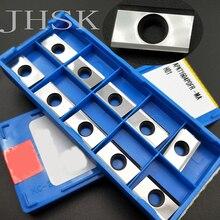 10 adet APKT1604PDFR MA H01 CNC freze torna araçları makine aracı aksesuarları karbür uçlar için kullanılan alüminyum