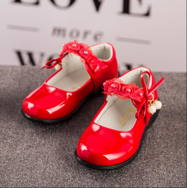 2017 spring and autumn new korean version of the princess shoes baby shoes children shoe ...