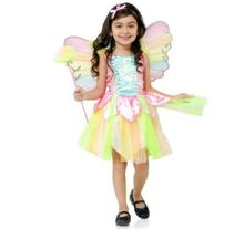 Lovely angel rainbow skirts Halloween children's princess dress stage performances for cosplay angel costumes