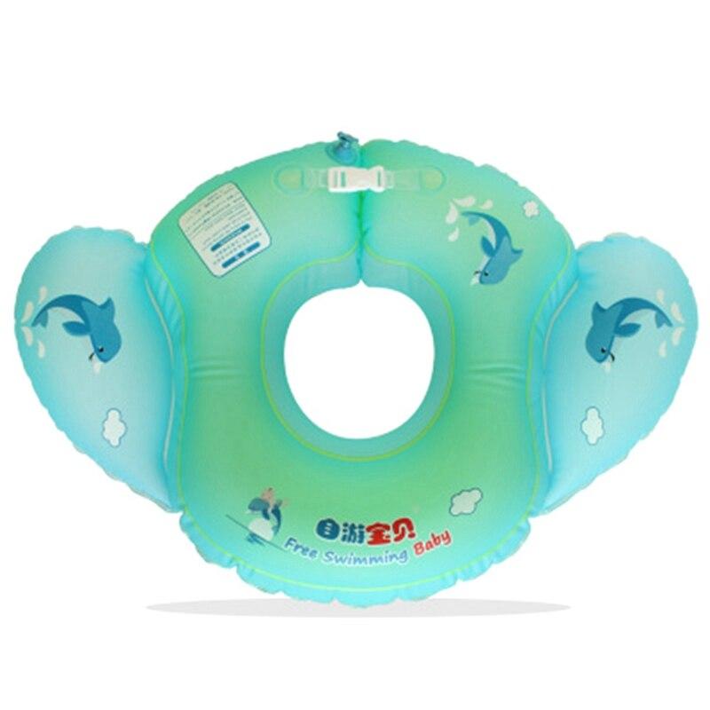 Горячая Распродажа Новый ангел ребенок u-образная талии плавать кольцо надувной детский бассейн аксессуары круглый детский надувной