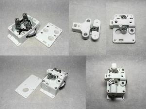 Image 4 - Belted Dual Stick zwei rad Starke und Stille Bowden Extruder kit für DIY Reprap UM ultimaker 3D drucker teile