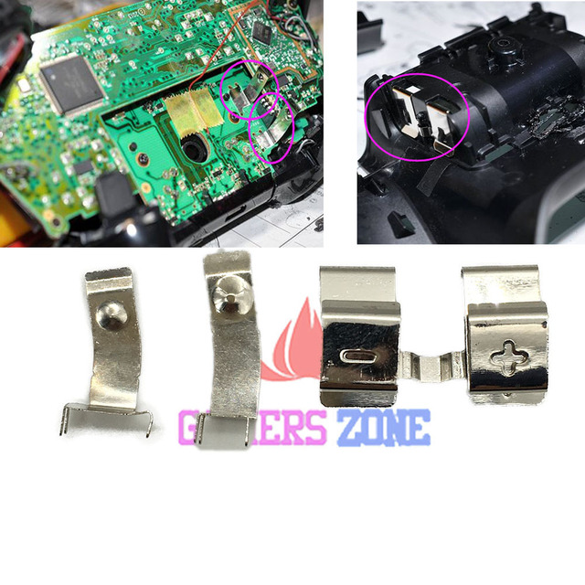 30 комплектов запасная правая левая Батарея Держатель Весна для Xbox one контроллер батарейка для материнской платы Терминал