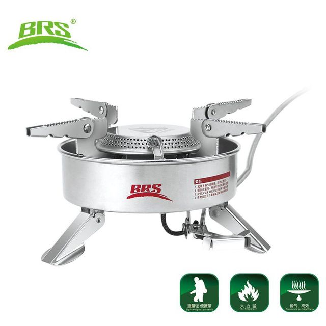 BRS Camping Gas Stove Camping Strong Firepower Cooking Stove Hiking Picnic Large Blaze Stove 2270W BRS-10