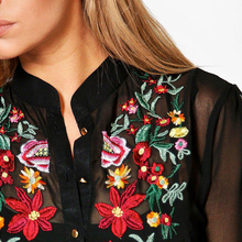 DOMODA Bohemian Dress Women Clothing Floral Print Embroidery Boho Dresses Loose Casual Elegant Maxi Dress Vestidos Female