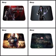 Witcher three 2016!New Customized Dest Pc Gaming Mouse Pad for Dimension 220mmX180mmX2mm and 250mmx290mmx2mm