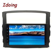 Idoing 2Din  9″ Steering-Wheel Android7.1For MITSUBISHI PAJERO V97 4Core 2G+16G Car DVD Multimedia Video Player GPS Navigation