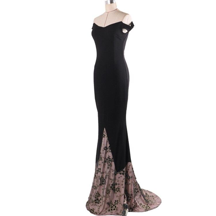 f64f2251a42 S XL Plus Size Dress Fashion Runway Maxi Dress strapless