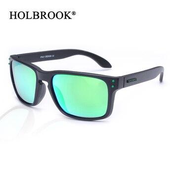 HOLBROOK Retro Unisex Sunglasses Men Women Brand Designer Real Polarized UV400 lens Square Sun glasses for Sports Fishing driver