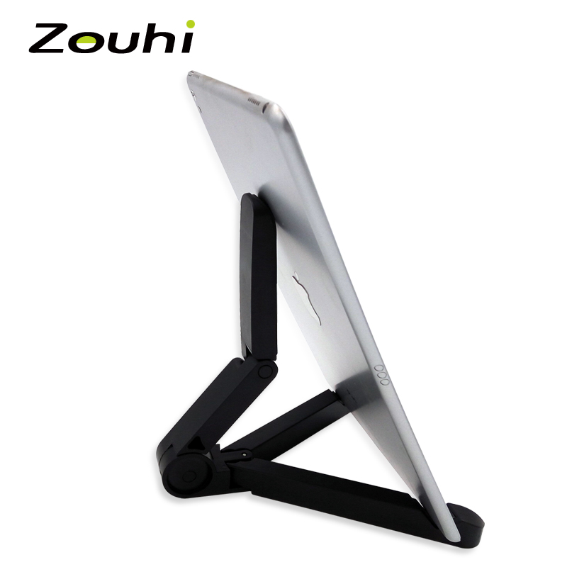 New Store Wholesale Prices Foldable Adjustable Stand Bracket Holder Mount for iPad Tablet PC Mobile Phone Holder Free Shipping