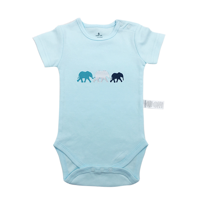 1pcs baby babies bebes clothes newborn bodysuit long sleeve cotton printing infant clothing 1pcs 6-24 Months(China)