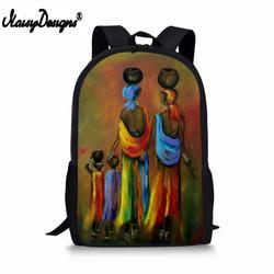 Nowych dzieci torby szkolne abstrakcyjne afryki malowanie plecak szkolny dziewczyny książka dla dzieci plecak dla dzieci Mochilas Escolares z torby niestandardowe 2