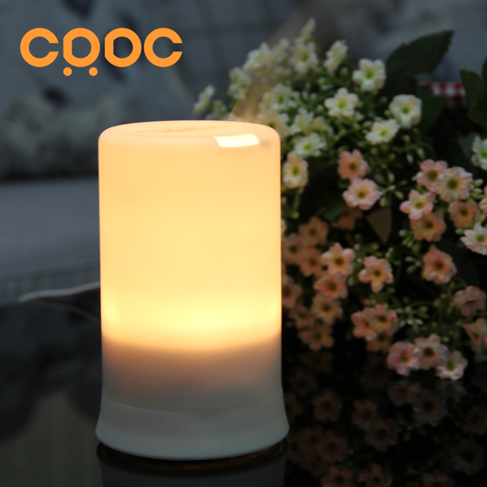 CRDC Essential Oil Diffuser 100ml Portable Ultrasonic Aroma Diffuser air humidifier  with Warm LED Light for home office crdc 100ml ultrasonic essential oil diffuser aroma portable air humidifier mini aromatherapy diffuser with colorful led light