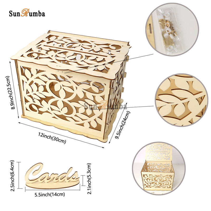 Wedding card box MUW-327-15
