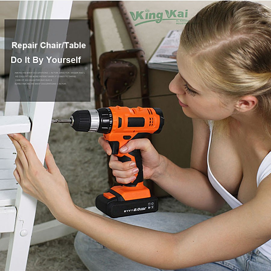 Cordless Lithium Battery Electric Drill-004