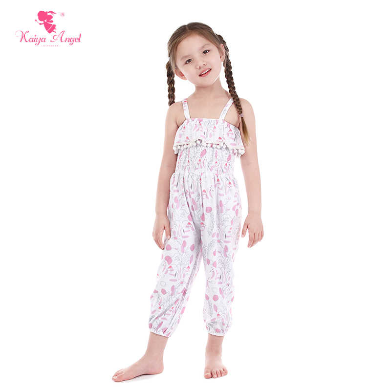 Kaiya Angel для маленьких девочек Розовый Одуванчик платье с цветочным  принтом 2018 летние малышей Летняя элегантная 617ca310cda1e