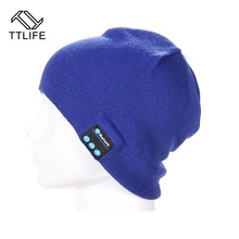 TTLIFE Bluetooth Earphone Hat for iPhone/Samsung Android Phones Men Women Winter Outdoor Sport Bluetooth Stereo Music Hat