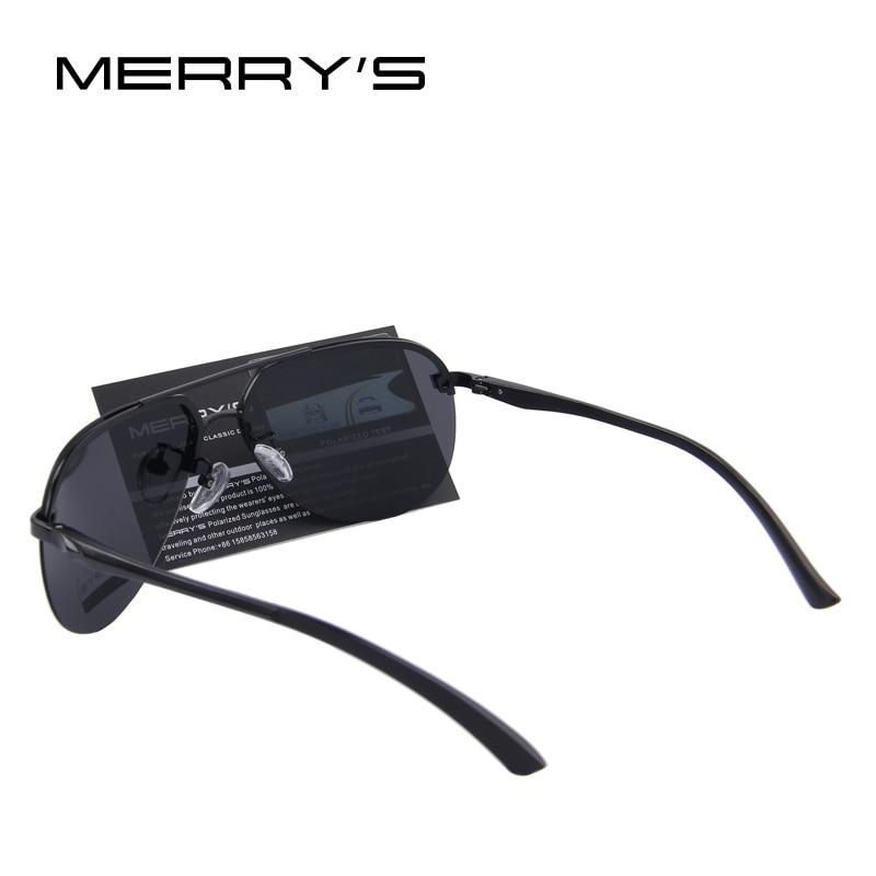 MERRYS Märke Män 100% Polariserad Aluminium Alloy Frame - Kläder tillbehör - Foto 4