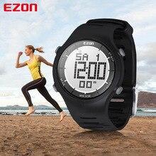EZON Men Women Fashion Casual Digital Watches 30M Waterproof Digital Dual Time Stopwatch Alarm Outdoor Sport Wristwatch L008A11 все цены