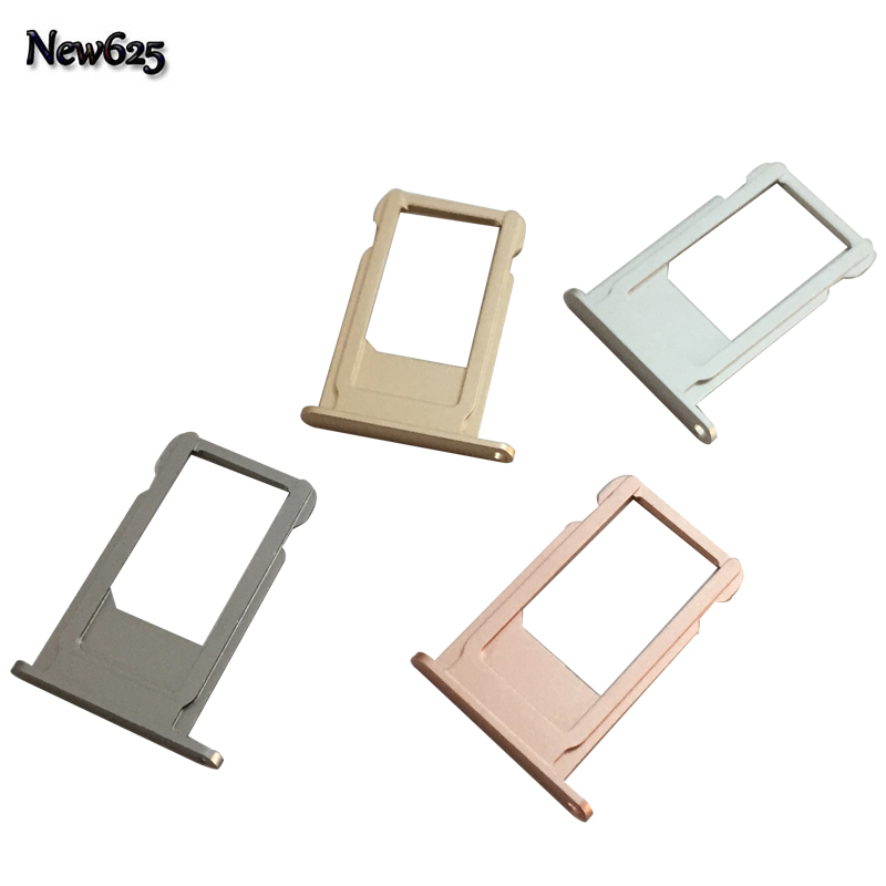 High Quality Sim Card Tray For iPhone 6S Plus Sim Holder Slot Replacement Parts